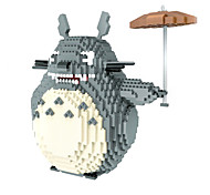 Hc Diamond Fine Particles Puzzle Casual Fight Cartridge Building Blocks 9005 Oversized Totoro Totoro Umbrella