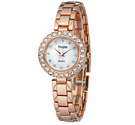 Women's Dress Watch Bracelet Watch Casual Watch Quartz Japanese Quartz Alloy Band Sparkle Silver Gold