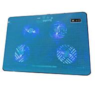 ventiladores de refrigeración v4 profesional USB para el ordenador portátil
