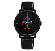 Student Watch Men Sport Watches Men Leather Star Wars Wristwatch Clock Hours Quartz Watches Cool Watch Unique Watch Fashion Watch