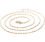 Women's 925 Silver Gold Necklace