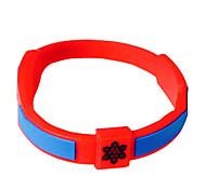 moda silicone pulseira pulseira de energia médica