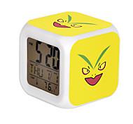 Poke Ball Colorful Flash Cartoon Alarm Clock-33#