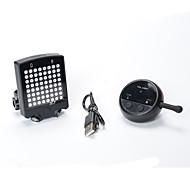 Luz Trasera para Bicicleta LED / Laser - Ciclismo Fácil de Transportar / Advertencia CR2032 400LM Lumens Batería Ciclismo