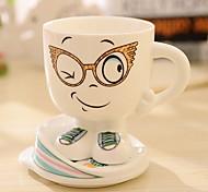 Cartoon Expression Ceramic Mug