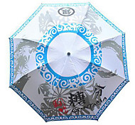 Supply Cartoon Umbrella Cartoon Umbrella Fold Chinchillas Surrounding Windproof Umbrella Uv Sunshade - Gintama