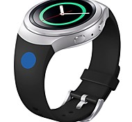Soft Silicone Replacement Sport Band for Samsung Gear S2 Smart Watch (Blue Pink Dot)