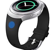 banda de silicona suave de reemplazo para el deporte reloj inteligente de Samsung s2 engranajes (punto azul rosa)