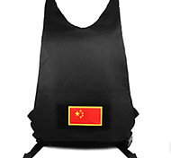 10 L Backpack Multifunctional Black Nylon