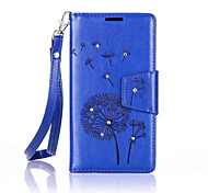 Dandelions Diamond Flip Leather Cases Cover For Samsung Galaxy Core Prime(G5308) Strap Wallet Phone Bags
