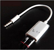 3.5mm Audio Splitter for Mic/Earphone/Laptop (1Ft)