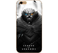 So Cool Ultra-thin Other TPU Soft League of Legends,So Cool Case Cover For  IPhone 5/6/6s/6plus/6s plus CFYX07