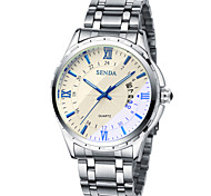 Men's Quartz Watch The Genuine Stainless Steel Band Watch Dress Watch Cool Watch