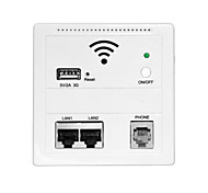 USB Charging Wireless Wall Wifi AP Repeater Router For Home Hotel