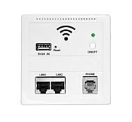 la carga de la pared router wifi ap repetidor inalámbrico para hotel inicio USB