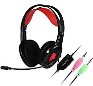 Danyin DT-2112 Stereo Headphones with Headband For Media Player/Tablet / Mobile Phone / Computer With Microphone