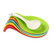 Creative Kitchen Gadget / Meilleure qualité / Haute qualité silica gel pad high temperature pad spoon Silicone 23.5*12*3.5