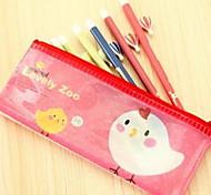 Cute Animal Mesh Bags Large Capacity Pencil Bags B6