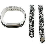 Smart Strap Bracelet Colorful Printing Silicone Bracelet For Fitbit Alta(28)