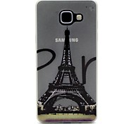 Eiffel Tower Pattern Pattern Relief Glow in the Dark TPU Phone Case for Motorola Moto G4/G4 Play
