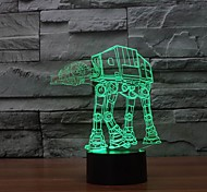 3D Led Night Light Household Adornment