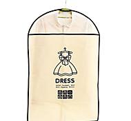 9996 gruesos overclothes polvo chaqueta objeto ropa cubierta de la bolsa a prueba de polvo traje de la cubierta que cuelgan por mayor