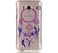 Purple Bells Pattern TPU Popular Brands Calling Flash Case Cover For Samsung Galaxy J7 (2016) / J5 (2016) / J1 (2016)