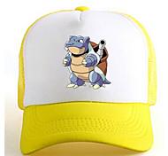 Pocket Little Monster Blastoise Yellow-White Adjustable Tennis Cap