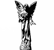 Fashion The Angel Statue Pattern PVC Bathroom or Bedroom or Glass Wall Sticker Home Decor