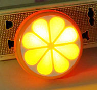 Lemon Orange Creative Lightl Sensor LED Night Light