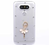 DIY Dancer Pattern PC Hard Case for Multiple LG G3 G4 G5 G5SE V10 K10 K7 K4