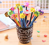 Cartoon Pencil Eraser Korea Stationery Pupil School Supplies Wholesale Pencil Gift For Children