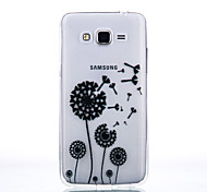 TPU Material Dandelion Pattern Cellphone Case for Samsung Galaxy J7/J510/J5/J310/G530/G360