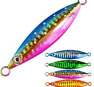"""4pcs/lot pcs Harte Fischköder / Jigs / Metallköder Mehrfarbig 60 g/> 1 Unze,101 mm/4"""" Zoll,Metall / BleiSeefischerei / Fliegenfischen /"""