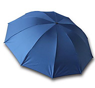 Couleurs Aléatoires Ombrelle pliable Ensoleillé et Rainy Caoutchouc Lady / Hommes