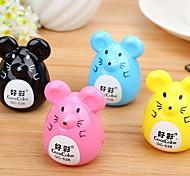 Korean Version Of The Cute Little Mouse Pencil Sharpener Pencil Sharpener Cartoon Pencil Pupils Prizes