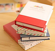 New Creative Lovely Hard Shell Notepad Combination of Sticky Memo and Pen (Random Colors)