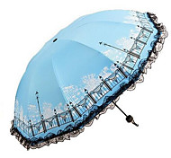 The New Urban Women Sun Umbrella Princess Vinyl Parasol Umbrella Sun Umbrella Sunny Umbrella Umbrella