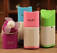 Creative Mute Mini Usb Charging Small Perfume Seat Air Conditioning Fan Turbine Ice Fragrances