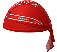 Bandana Bike Breathable Sunscreen Limits Bacteria Sweat-wicking Unisex Red Terylene