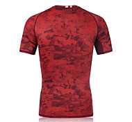 Running Sweatshirt Men's Short Sleeve Breathable / Quick Dry / Sweat-wicking /