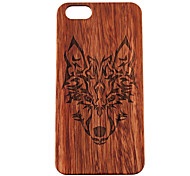 iPhone 7 Plus Wooden iphone Case Timberwolves Forest Wolf Totem Hard Back Cover for iPhone 5/5S/SE