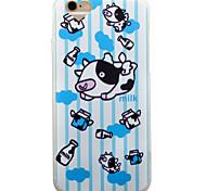 Boats Cow Pattern Matte TPU Soft Case Phone Case Case for iPhone 6/6S/6Plus/6SPlus