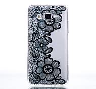 TPU Material Chrysanthemum Pattern Pattern Cellphone Case for Samsung Galaxy J710/J510/J5/J310/G530/G360