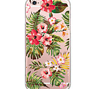 Coque Motif Fleur PC Dur Couverture de cas pour Apple iPhone 6s Plus/6 Plus / iPhone 6s/6 / iPhone SE/5s/5