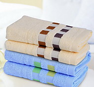 Plaid Cotton Thicker Super Absorbent Towel