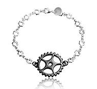 2016 New Gear Noble Silver Black Party Luxury Specially Bracelets For Women