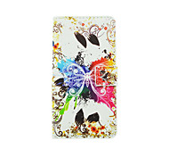 Colorful Butterfly Pattern PU Leather Full Body Case with Stand and Card Slot for LG G4 Stylus/G3 Stylus/G4 mini/G3 mini