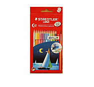 Staedtler 12 Color Water-Soluble Color Of Lead Secret Garden Oily Coating Color Pencil