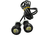 20X 9W Eagle Eye LED 18mm Car Fog DRL Daytime Reverse Backup Parking Signal Bulb